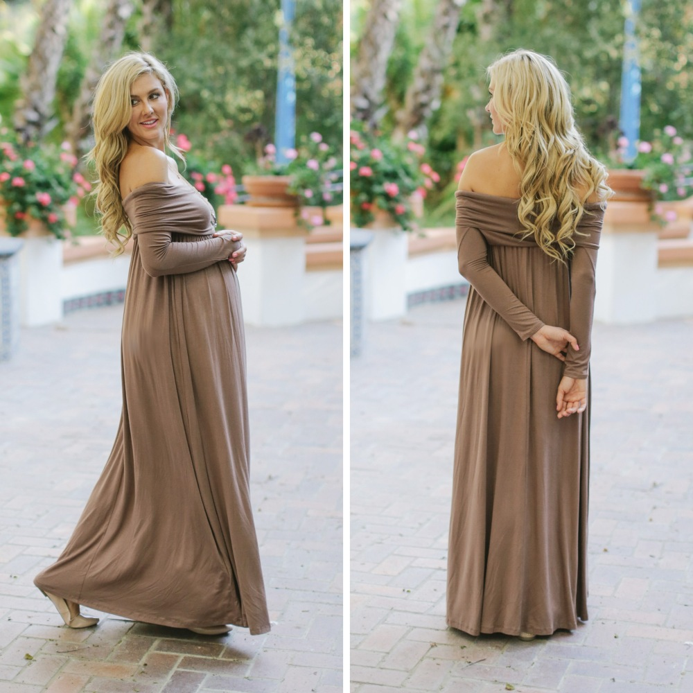 cute maternity maxi dresses