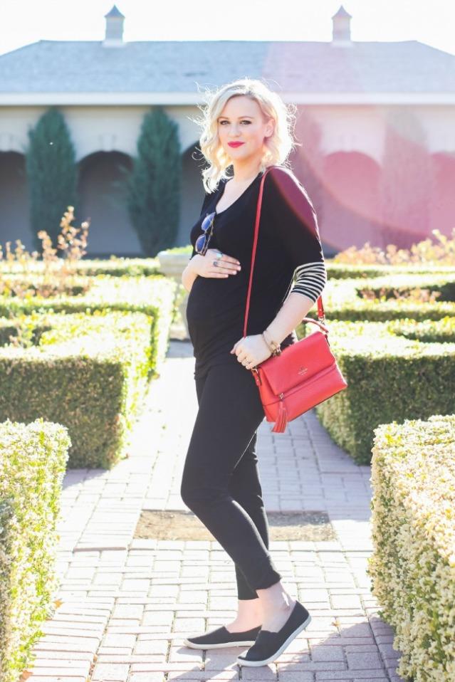 Pregnancy Style Crowley Party Alycia Grayce